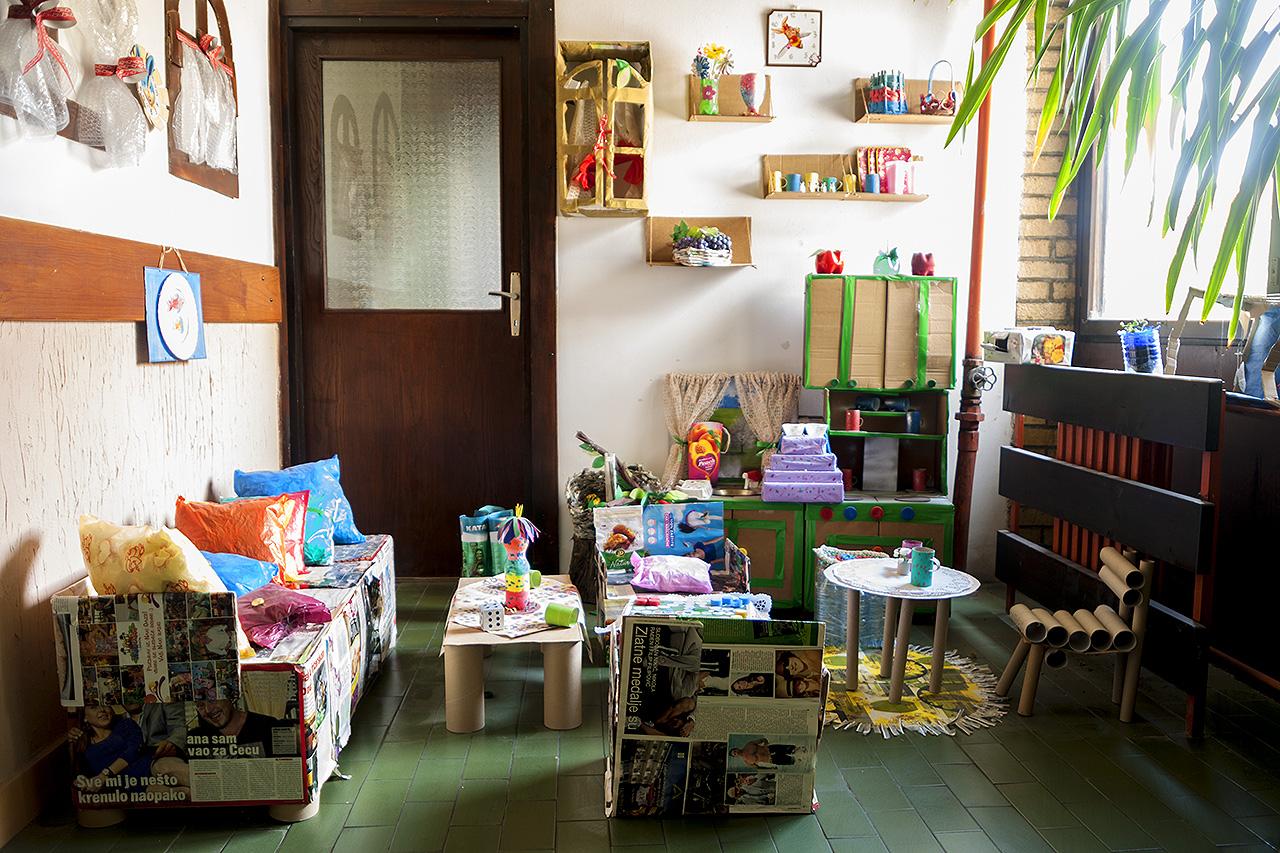 Дечје стваралаштво, разне макете
