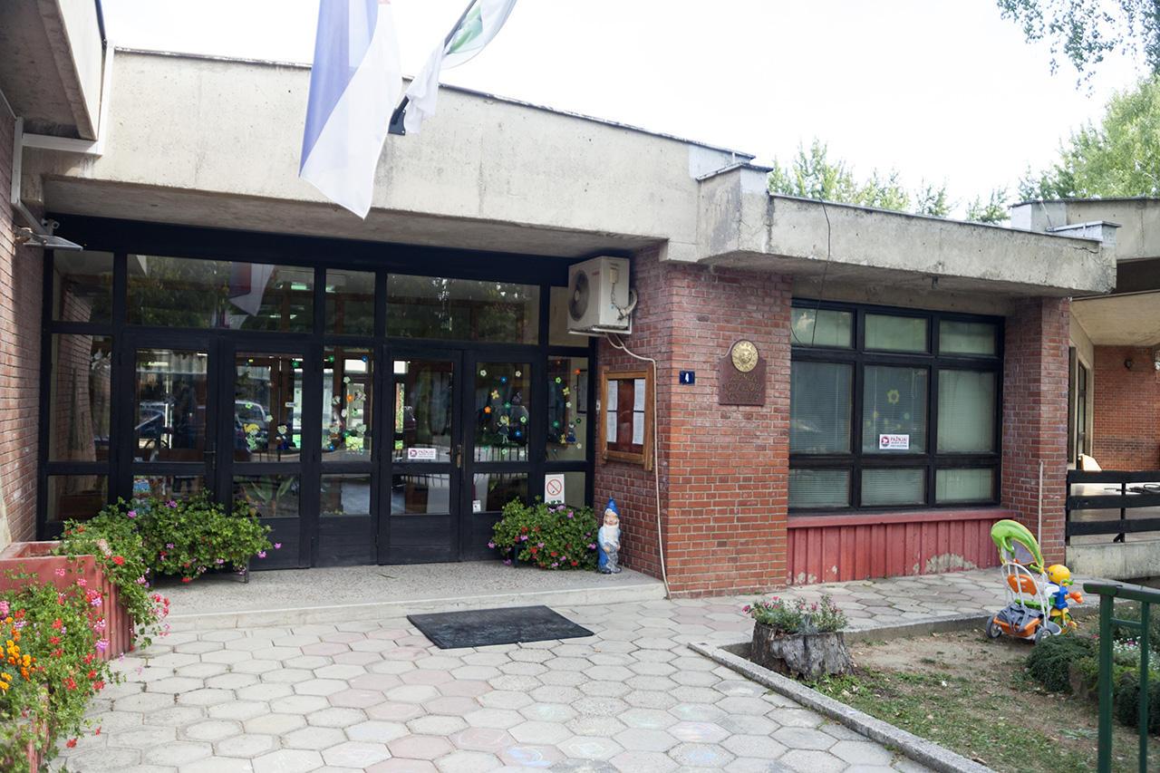 Glavni ulaz u objekat Predškolske ustanove Sunce